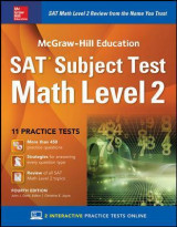 Omslag - McGraw-Hill Education SAT  Subject Test Math Level 2