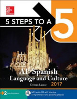 Omslag - 5 Steps to a 5: AP Spanish Language and Culture 2017