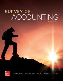 Survey of Accounting av Thomas Edmonds, Christopher Edmonds, Philip Olds, Frances McNair og Bor-Yi Tsay (Innbundet)