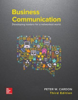 Omslag - Business Communication: Developing Leaders for a Networked World