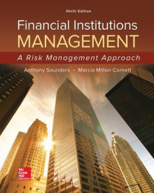 Financial Institutions Management: A Risk Management Approach av Anthony Saunders og Marcia Millon Cornett (Innbundet)