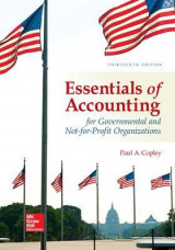 Omslag - Essentials of Accounting for Governmental and Not-for-Profit Organizations