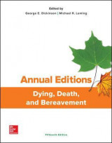Omslag - Annual Editions: Dying, Death, and Bereavement, 15/E