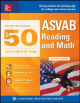 Omslag - McGraw-Hill Education Top 50 Skills for a Top Score: ASVAB Reading and Math, Second Edition