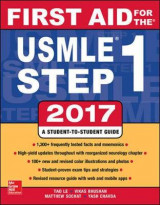 Omslag - First Aid for the USMLE Step 1 2017