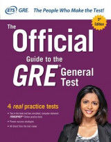 Omslag - The Official Guide to the GRE General Test