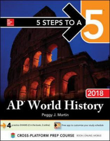5 Steps To A 5 Ap World Hist 2018 av Martin (Innbundet)