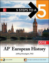 Omslag - 5 Steps to a 5: AP European History 2018