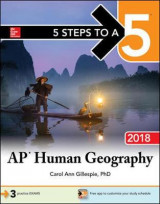 Omslag - 5 Steps to a 5: AP Human Geography 2018