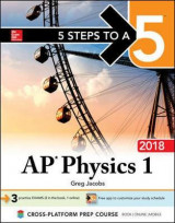 Omslag - 5 Steps to a 5 AP Physics 1: Algebra-Based 2018 edition