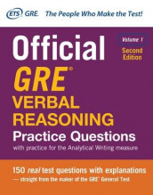 Official GRE Verbal Reasoning Practice Questions, Second Edition, Volume 1 av Educational Testing Service (Heftet)