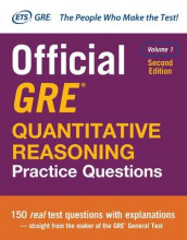Official GRE Quantitative Reasoning Practice Questions, Second Edition, Volume 1 av Educational Testing Service (Heftet)