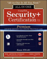 Omslag - CompTIA Security+ Certification All-in-One Exam Guide, Premium Fourth Edition with Online Practice Labs (Exam SY0-401)
