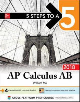 Omslag - 5 Steps to a 5: AP Calculus AB 2018