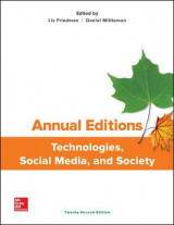 Omslag - Annual Editions: Technologies, Social Media, and Society