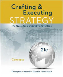 CRAFTING AND EXECUTING STRATEGY: CONCEPTS av Thompson (Heftet)