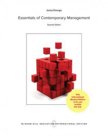 ISE ESSENTIALS OF CONTEMPORARY MANAGEMENT av Jones (Heftet)