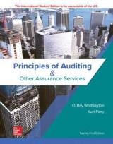 Omslag - Principles of Auditing & Other Assurance Services