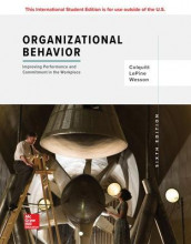 ISE Organizational Behavior: Improving Performance and Commitment in the Workplace av Jason Colquitt, Jeffery LePine og Michael Wesson (Heftet)