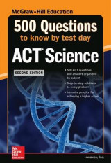 Omslag - 500 ACT Science Questions to Know by Test Day, 2ed