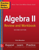 Omslag - Practice Makes Perfect Algebra Ii Review And Workbook