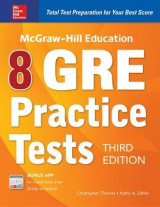 Omslag - McGraw-Hill Education 8 GRE Practice Tests, Third Edition