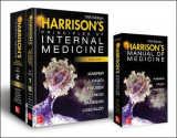 Omslag - Harrison's Principles of Internal Medicine 19th Edition and Harrison's Manual of Medicine 19th Edition VAL PAK