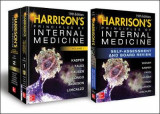 Omslag - Harrison's Principles and Practice of Internal Medicine 19th Edition and Harrison's Principles of Internal Medicine Self-Assessment and Board Review, 19th Edition Val-Pak