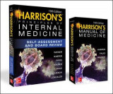 Omslag - Harrison's Principles of Internal Medicine Self-Assessment and Board Review, 19th Edition and Harrison's Manual of Medicine 19th Edition VAL PAK