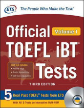 Official TOEFL iBT Tests Volume 1, Third Edition av Educational Testing Service (Blandet mediaprodukt)