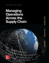 Loose Leaf for Managing Operations Across the Supply Chain av M Bixby Cooper, Janet L Hartley, Steven Melnyk og Morgan Swink (Perm)