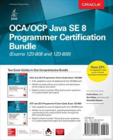 Omslag - OCA/OCP Java SE 8 Programmer Certification Bundle (Exams 1Z0-808 and 1Z0-809)