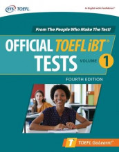 Official TOEFL iBT Tests Volume 1, Fourth Edition av Educational Testing Service (Heftet)