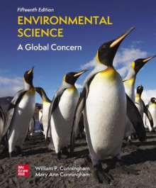 Loose Leaf for Environmental Science: A Global Concern av Mary Cunningham og William Cunningham (Perm)