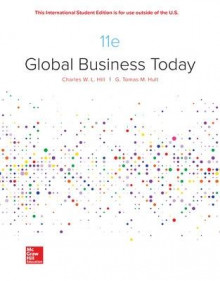 ISE Global Business Today av Charles Hill og G. Tomas M. Hult (Heftet)
