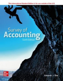 ISE Survey of Accounting av Thomas Edmonds, Christopher Edmonds, Philip Olds, Frances McNair og Bor-Yi Tsay (Heftet)