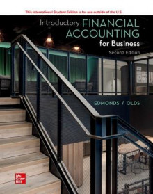 ISE Introductory Financial Accounting for Business av Thomas Edmonds og Christopher Edmonds (Heftet)