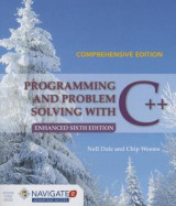 Omslag - Programming And Problem Solving With C++: Comprehensive