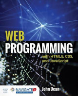 Omslag - Web Programming With HTML5, CSS, And Javascript