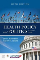 Omslag - Health Policy And Politics