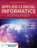 Omslag - Applied Clinical Informatics For Nurses