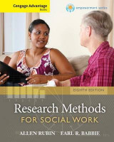 Omslag - Research Methods for Social Work