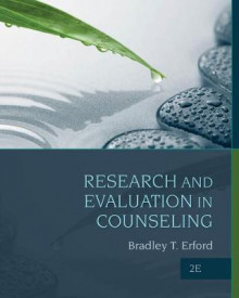 Research and Evaluation in Counseling av Bradley T. Erford (Innbundet)