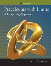 Precalculus with Limits : A Graphing Approach, Texas Edition av Ron Larson (Innbundet)