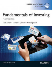 Fundamentals of Investing av Scott J. Smart, Lawrence J. Gitman og Michael D. Joehnk (Heftet)