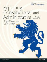 Omslag - Exploring Constitutional and Administrative Law MyLawChamber pack