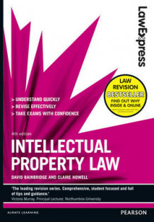 Law Express: Intellectual Property Law av David Bainbridge og Claire Howell (Heftet)