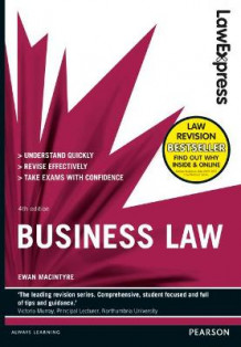 Law Express: Business Law av Ewan MacIntyre (Heftet)