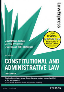 Law Express: Constitutional and Administrative Law: Revision Guide av Chris Taylor (Heftet)