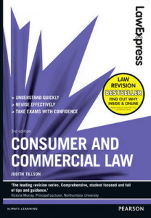 Law Express: Consumer and Commercial Law av Judith Tillson (Heftet)